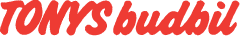 Logo tonys budbil